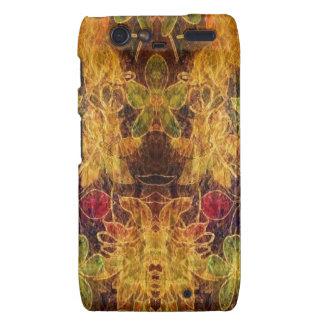 Jewel toned vintage pattern droid RAZR cases