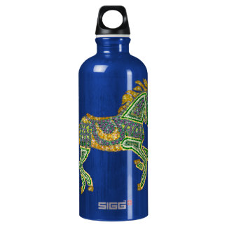 Jeweled Artistic Horse Aluminum Water Bottle