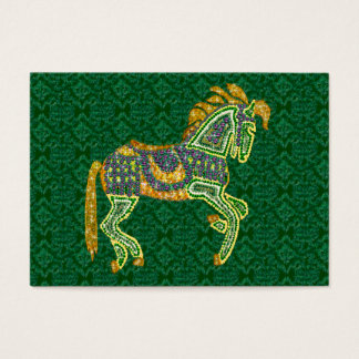 Jeweled Artistic Horse Business Card