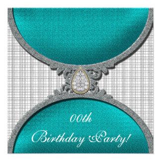 Jeweled Birthday Party Invitations