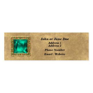 Jeweled Business Card