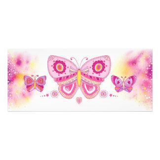Jeweled Butterflies (Horizontal) Invitation