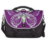 Jeweled Butterfly Bag Gemstone Design Commuter Bag