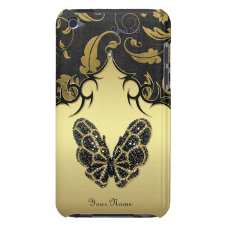 Jeweled Butterfly Damas - Customize for iPod Touch Case-Mate iPod Touch Case