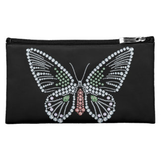 Jeweled Butterfly Hand Bag Gemstone Design