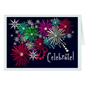 Jeweled Celebration (Birthday Card) Card