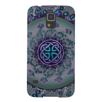 Jeweled Celtic Fractal Mandala Galaxy S5 Covers