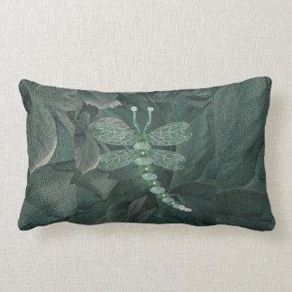 Jeweled Dragaonfly Lumbar Pillow