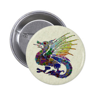 Jeweled Dragon Buttons