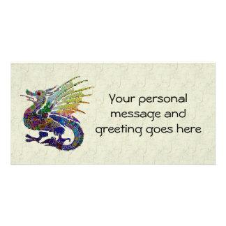 Jeweled Dragon Card