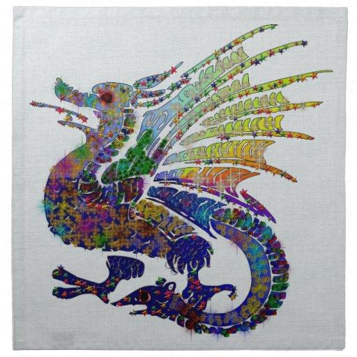 Jeweled Dragon Cloth Napkin