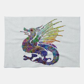 Jeweled Dragon Kitchen Towel