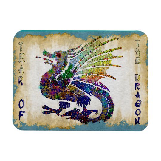Jeweled Dragon Magnet