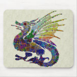 Jeweled Dragon Mouse Pad