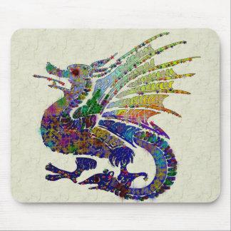 Jeweled Dragon Mouse Pad