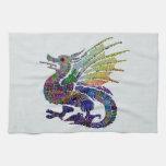 Jeweled Dragon Towels