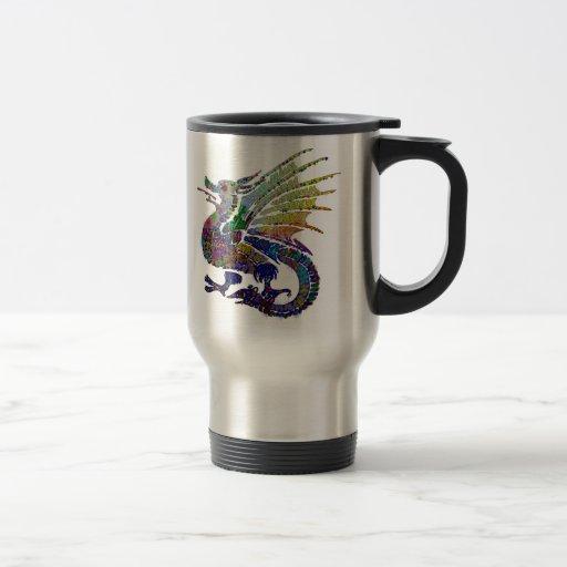 Jeweled Dragon Travel Mug