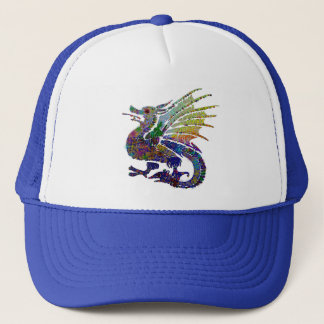 Jeweled Dragon Trucker Hat