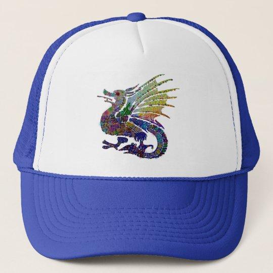 Jeweled Dragon Trucker Hat