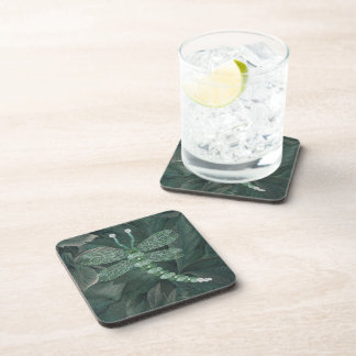 Jeweled Dragonfly Drink Coaster