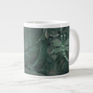 Jeweled Dragonfly Large Coffee Mug