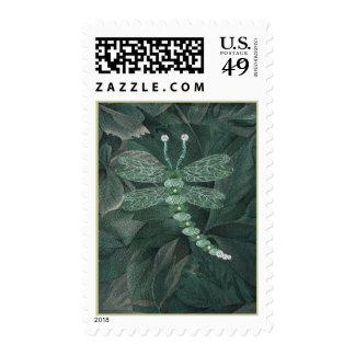 Jeweled Dragonfly Postage