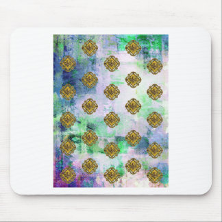 JEWELED EAGLE CREST PATTERN MOUSE PAD