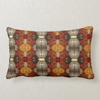 Jeweled Earth pattern pillow