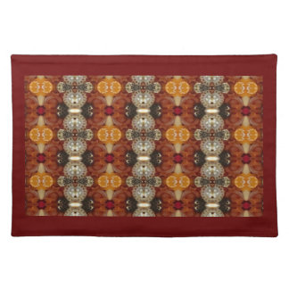 Jeweled Earth pattern placemat