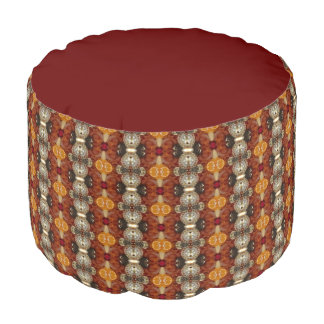 Jeweled Earth Pouf Chair