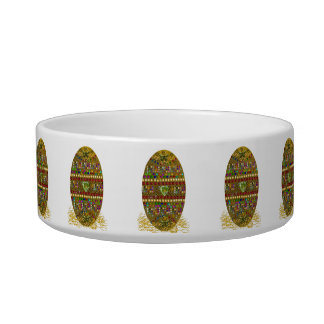 Jeweled Easter Egg Bowl