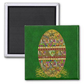 Jeweled Easter Egg Magnet