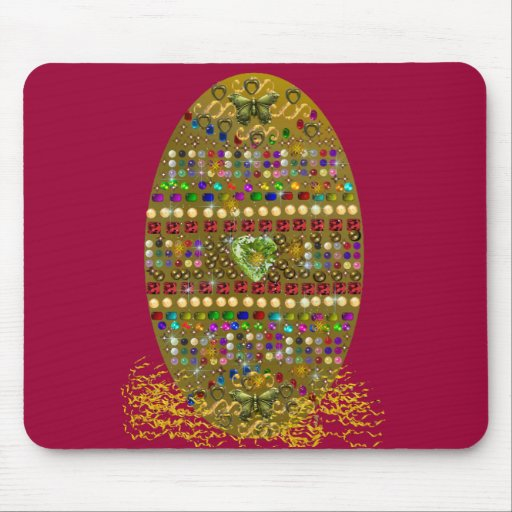 Jeweled Easter Egg Mouse Pad