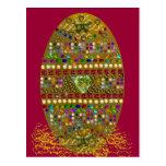 Jeweled Easter Egg Postcard