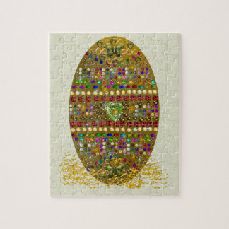 Jeweled Easter Egg Jigsaw Puzzles