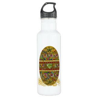 Jeweled Easter Egg Stainless Steel Water Bottle
