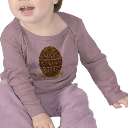 Jeweled Easter Egg Tee Shirts