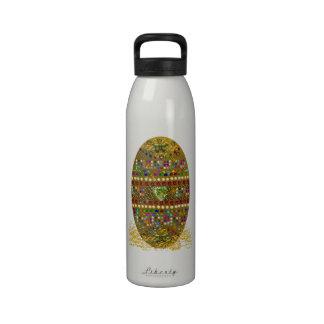 Jeweled Easter Egg Drinking Bottle