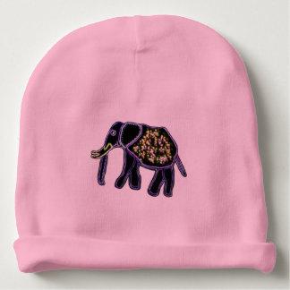 Jeweled Elephant Baby Beanie