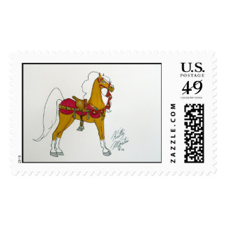 Jeweled Filly Postage