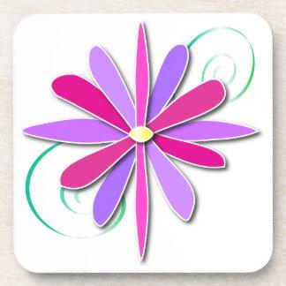 Jeweled Flower Coasters