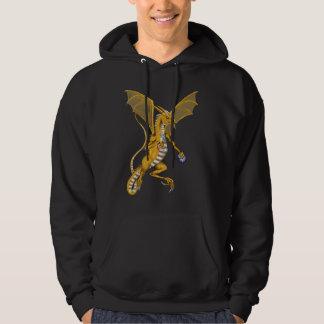 Jeweled Gold Dragon Shirt
