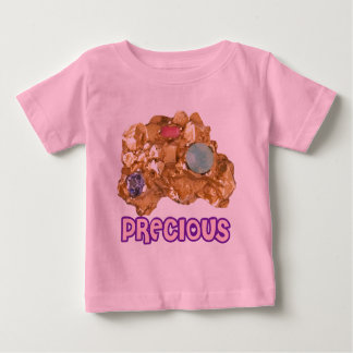 Jeweled Gold Nugget Baby T-Shirt