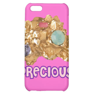 Jeweled Gold Nugget Case For iPhone 5C