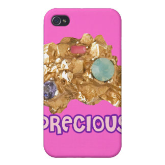 Jeweled Gold Nugget iPhone 4 Cases
