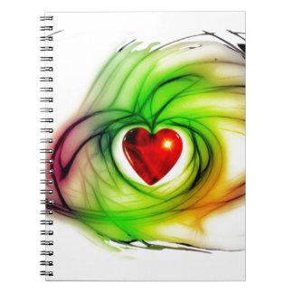 Jeweled Heart! Notebooks