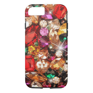 Jeweled Jewels Sparkle Gems Color iPhone 7 Case
