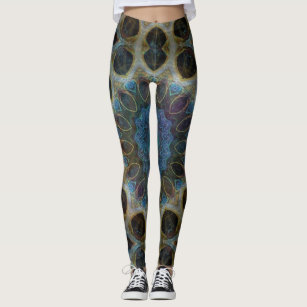 583576f082318 Jeweled Light Mandala Sacred Geometry Leggings