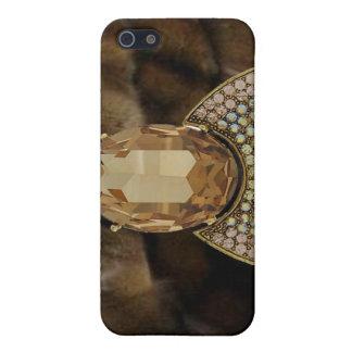 Jeweled & Mink I Phone Case