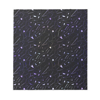 Jeweled Night Sky Rainbow Glitter Notepads